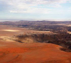 Namibia Scenic Flight over Kuiseb River